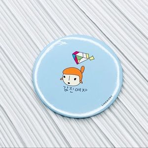 Other - Cute personal makeup mirror